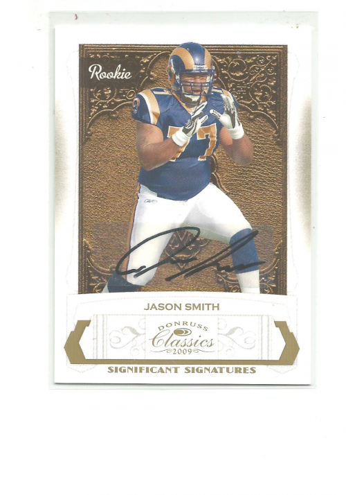 2009 Donruss Classics Significant Signatures Gold #200 Jason Smith/250