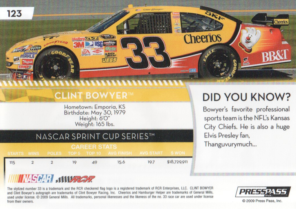 2009-Press-Pass-Parallels-NASCAR-Racing-Cards-Pick-From-List thumbnail 103