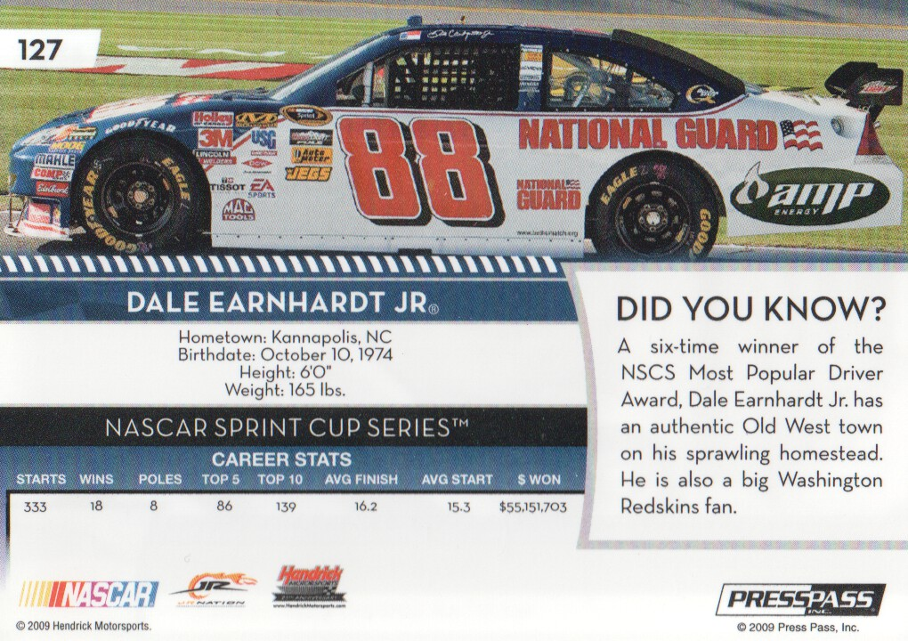 2009-Press-Pass-Parallels-NASCAR-Racing-Cards-Pick-From-List thumbnail 109