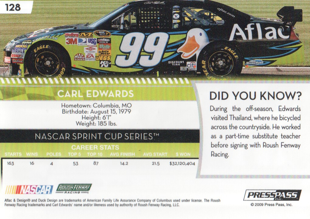 2009-Press-Pass-Parallels-NASCAR-Racing-Cards-Pick-From-List thumbnail 111