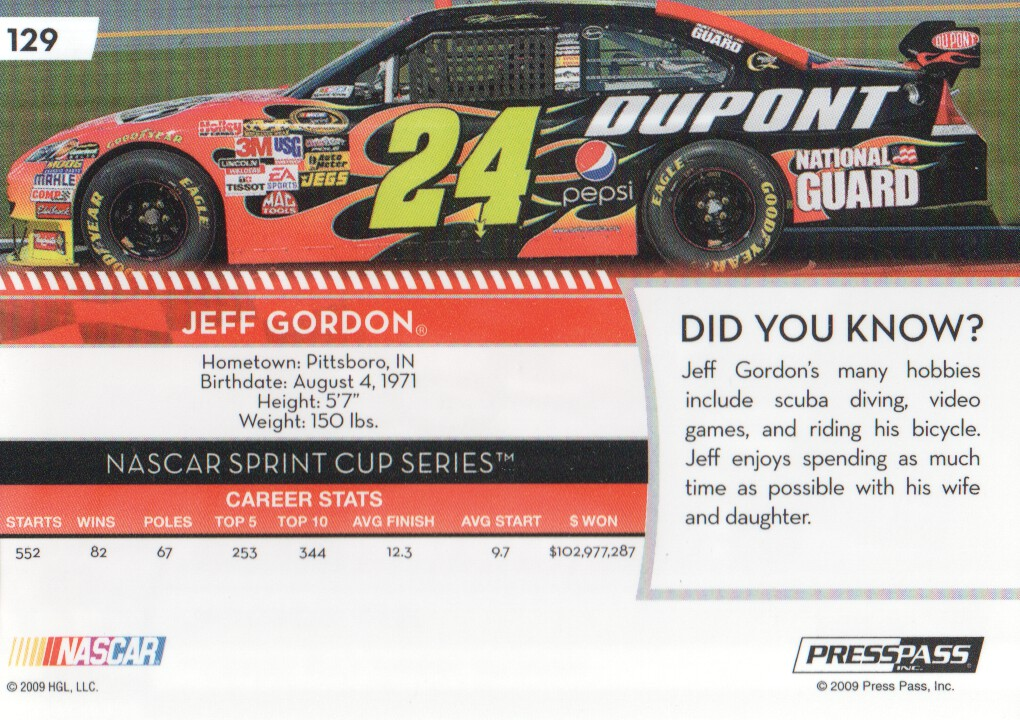 2009-Press-Pass-Parallels-NASCAR-Racing-Cards-Pick-From-List thumbnail 113
