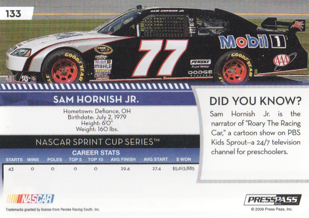 2009-Press-Pass-Parallels-NASCAR-Racing-Cards-Pick-From-List thumbnail 119