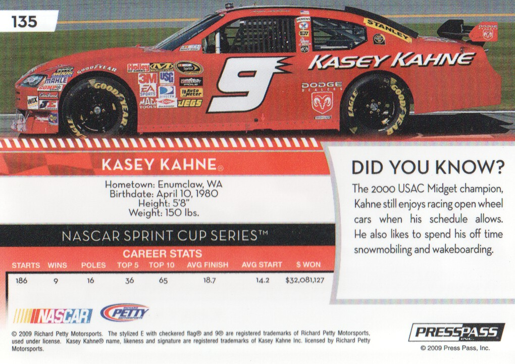 2009-Press-Pass-Parallels-NASCAR-Racing-Cards-Pick-From-List thumbnail 121