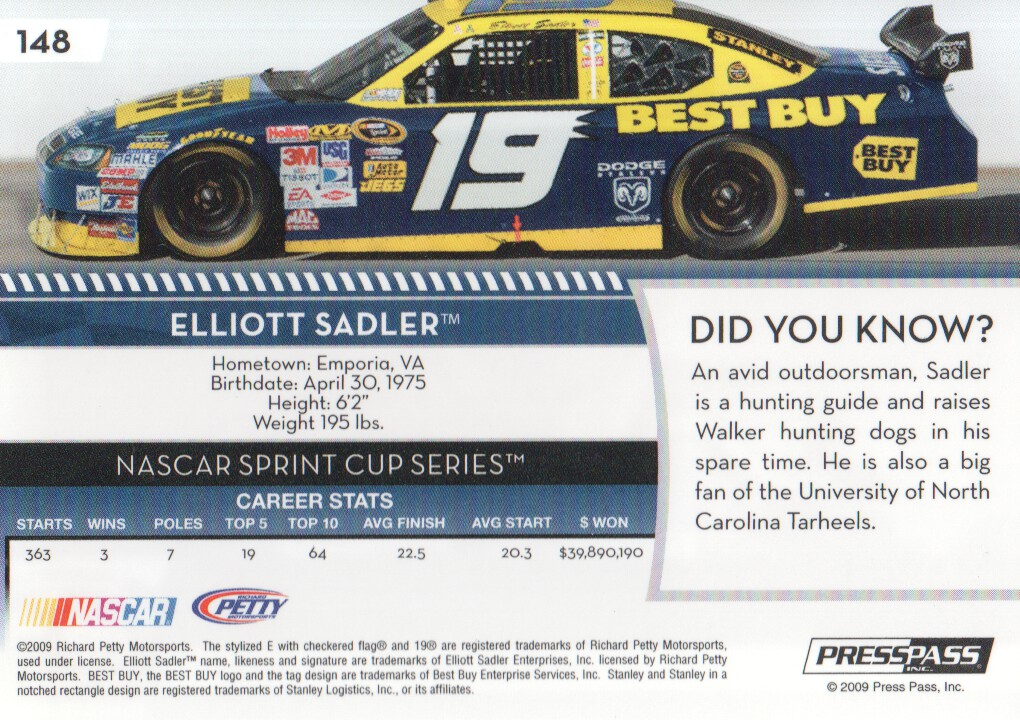 2009-Press-Pass-Parallels-NASCAR-Racing-Cards-Pick-From-List thumbnail 141