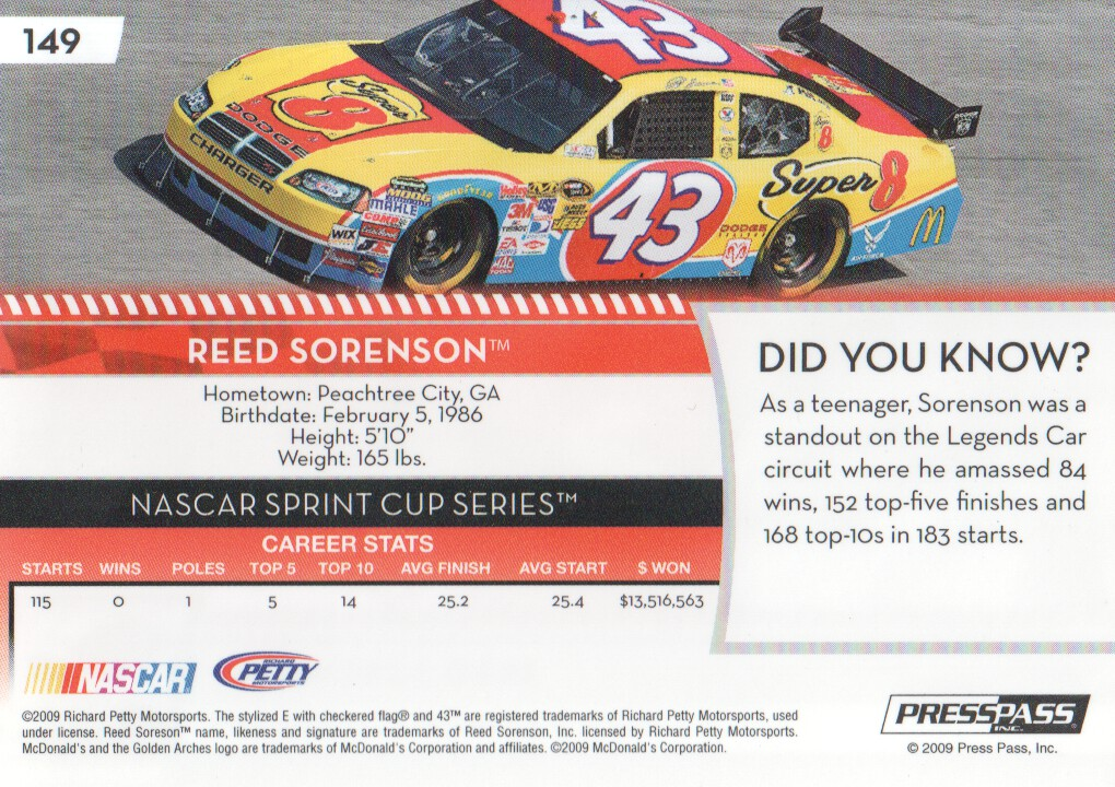 2009-Press-Pass-Parallels-NASCAR-Racing-Cards-Pick-From-List thumbnail 143