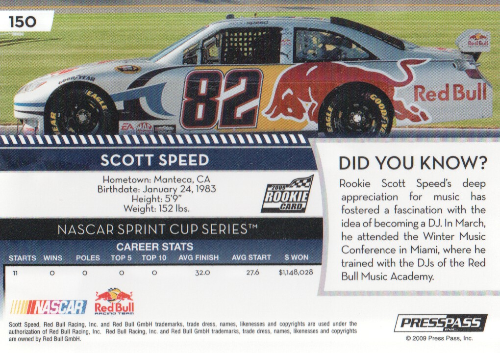 2009-Press-Pass-Parallels-NASCAR-Racing-Cards-Pick-From-List thumbnail 145