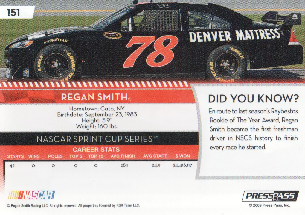 2009-Press-Pass-Parallels-NASCAR-Racing-Cards-Pick-From-List thumbnail 147