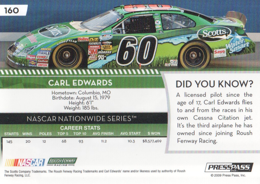 2009-Press-Pass-Parallels-NASCAR-Racing-Cards-Pick-From-List thumbnail 163