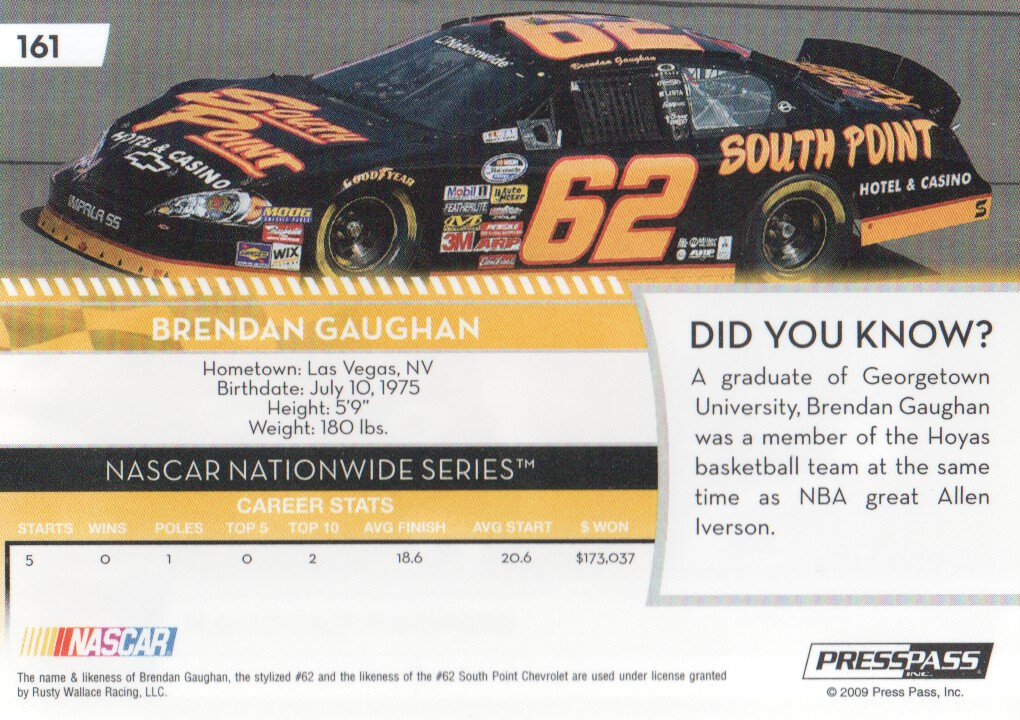 2009-Press-Pass-Parallels-NASCAR-Racing-Cards-Pick-From-List thumbnail 165