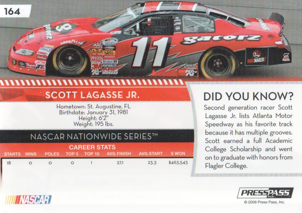 2009-Press-Pass-Parallels-NASCAR-Racing-Cards-Pick-From-List thumbnail 169