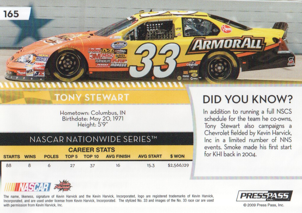 2009-Press-Pass-Parallels-NASCAR-Racing-Cards-Pick-From-List thumbnail 171