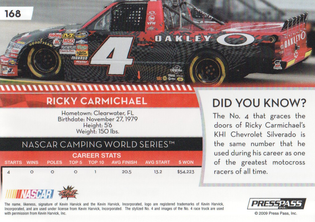 2009-Press-Pass-Parallels-NASCAR-Racing-Cards-Pick-From-List thumbnail 175