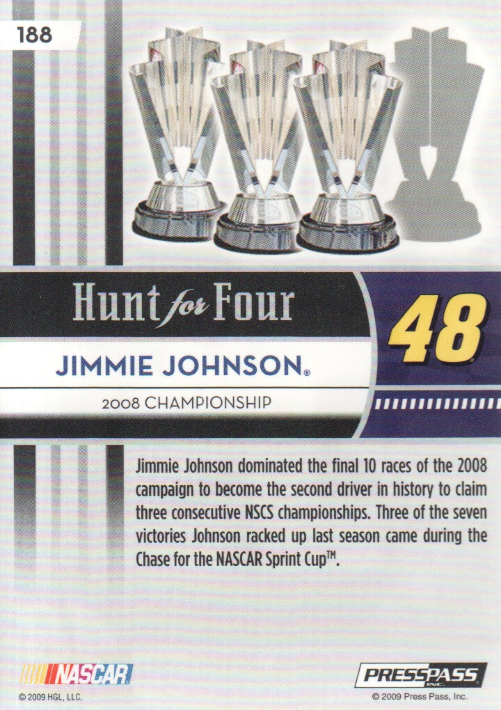 2009-Press-Pass-Parallels-NASCAR-Racing-Cards-Pick-From-List thumbnail 203