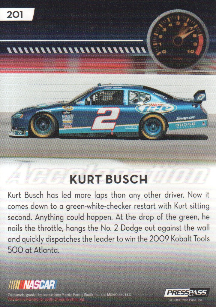 2009-Press-Pass-Parallels-NASCAR-Racing-Cards-Pick-From-List thumbnail 213