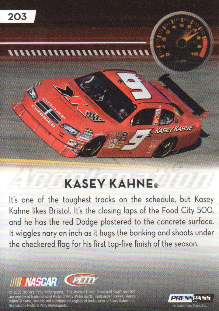2009-Press-Pass-Parallels-NASCAR-Racing-Cards-Pick-From-List thumbnail 215