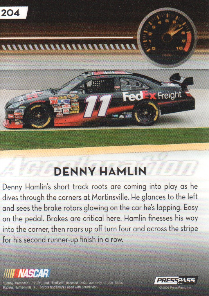 2009-Press-Pass-Parallels-NASCAR-Racing-Cards-Pick-From-List thumbnail 217