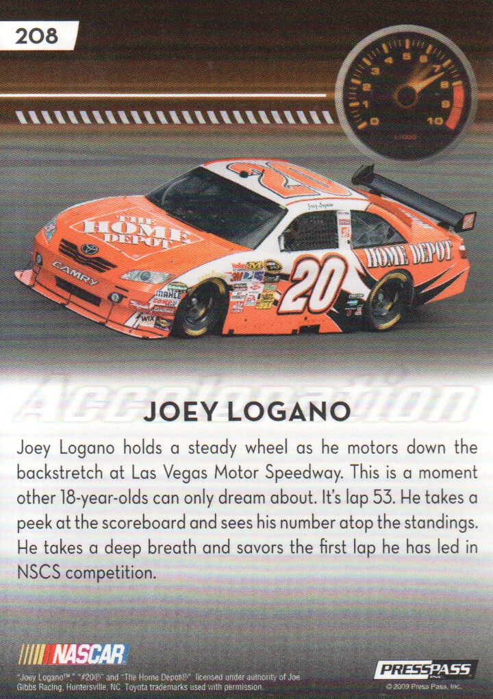 2009-Press-Pass-Parallels-NASCAR-Racing-Cards-Pick-From-List thumbnail 219