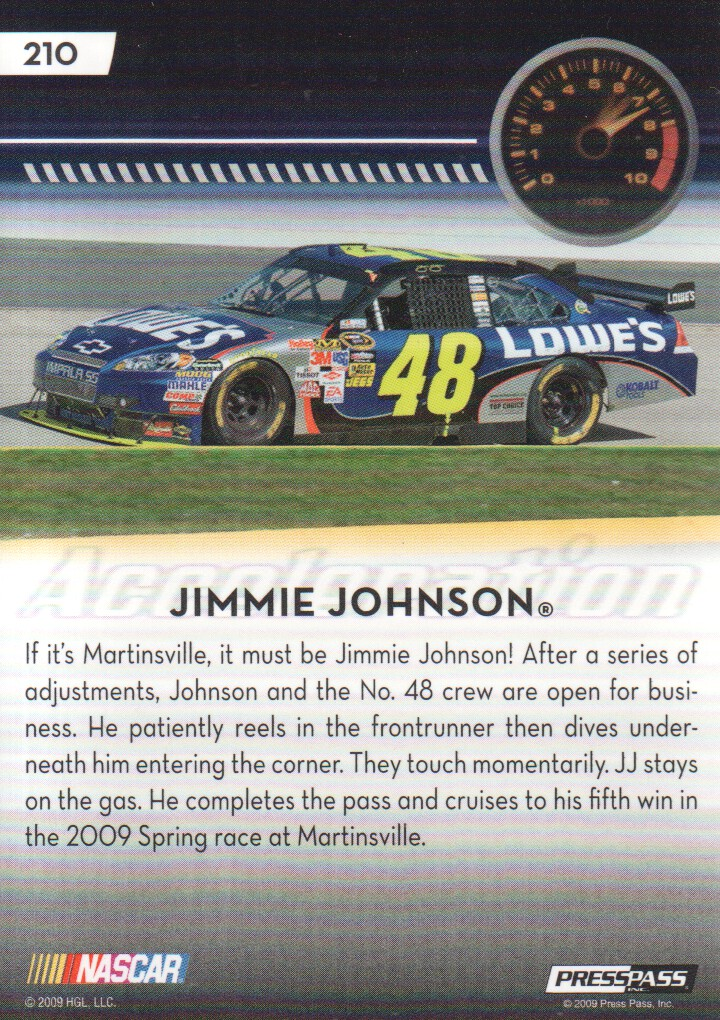 2009-Press-Pass-Parallels-NASCAR-Racing-Cards-Pick-From-List thumbnail 221