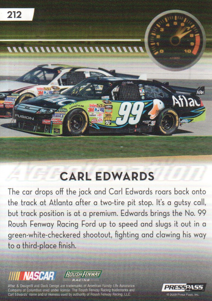 2009-Press-Pass-Parallels-NASCAR-Racing-Cards-Pick-From-List thumbnail 225