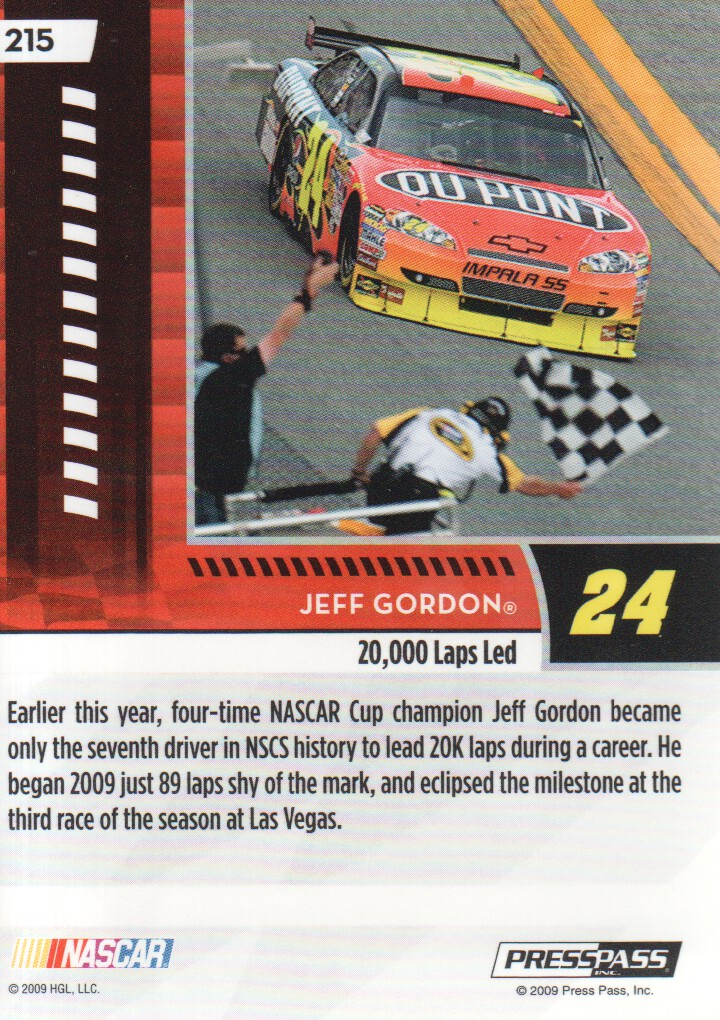 2009-Press-Pass-Parallels-NASCAR-Racing-Cards-Pick-From-List thumbnail 227