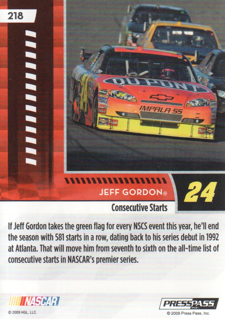 2009-Press-Pass-Parallels-NASCAR-Racing-Cards-Pick-From-List thumbnail 231