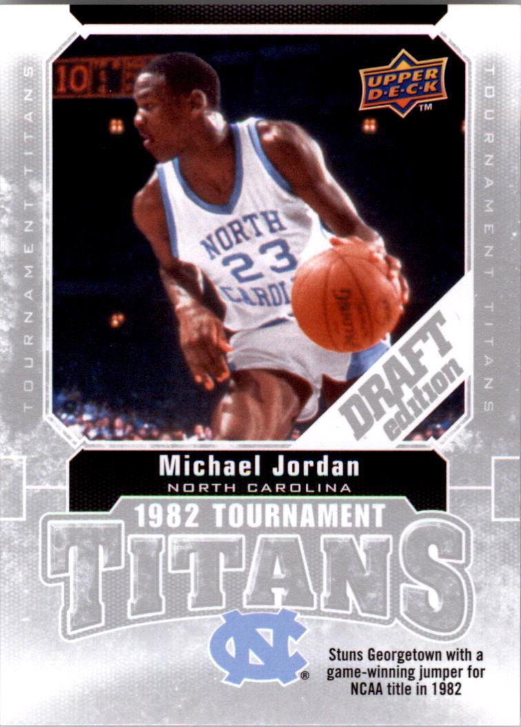 2009-10 Upper Deck Draft Edition Tournament Titans #TTJO Michael Jordan