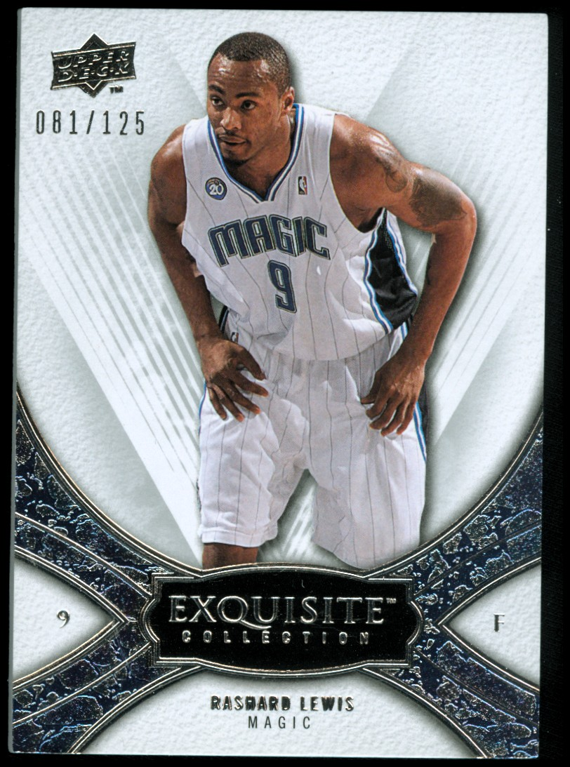 2008-09 Exquisite Collection #40 Rashard Lewis