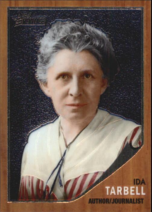 2009 Topps American Heritage Heroes Chrome #96 Ida Tarbell