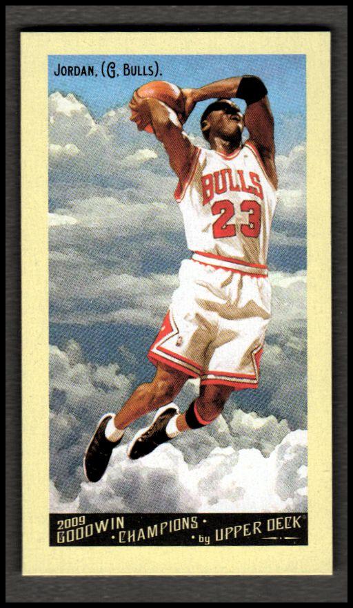 2009 Upper Deck Goodwin Champions Mini #114 Michael Jordan