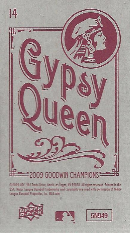 2009 Upper Deck Goodwin Champions Mini Black Border #14 Donovan Bailey back image