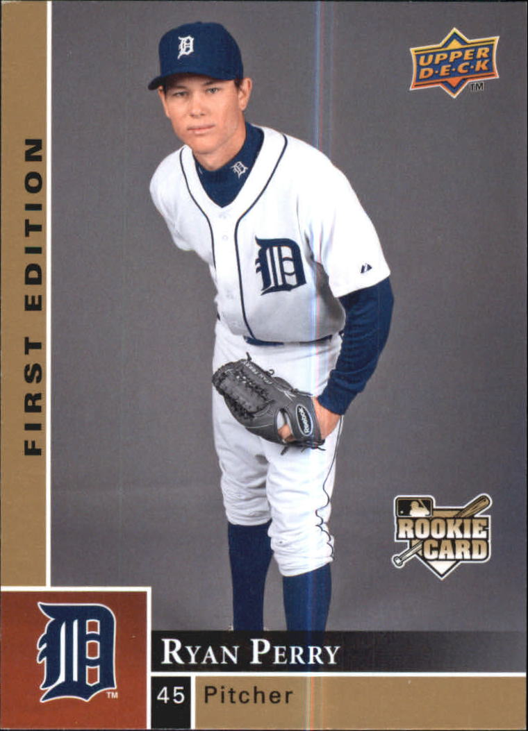 Details About 2009 Upper Deck First Edition Baseball Card 400 Ryan Perry Rookie