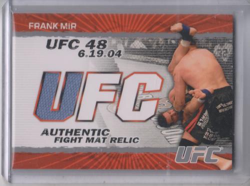 2009 Topps UFC Fight Mat Relics #FMFM Frank Mir C