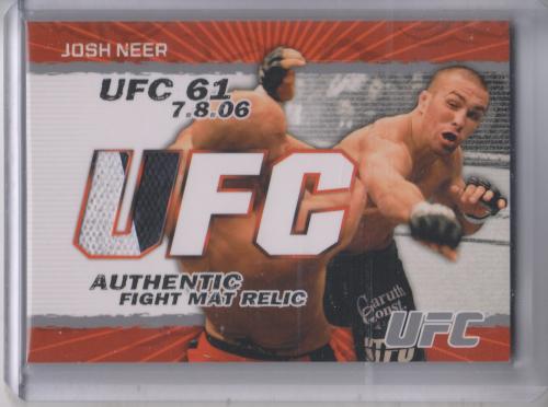 2009 Topps UFC Fight Mat Relics #FMJN Josh Neer C