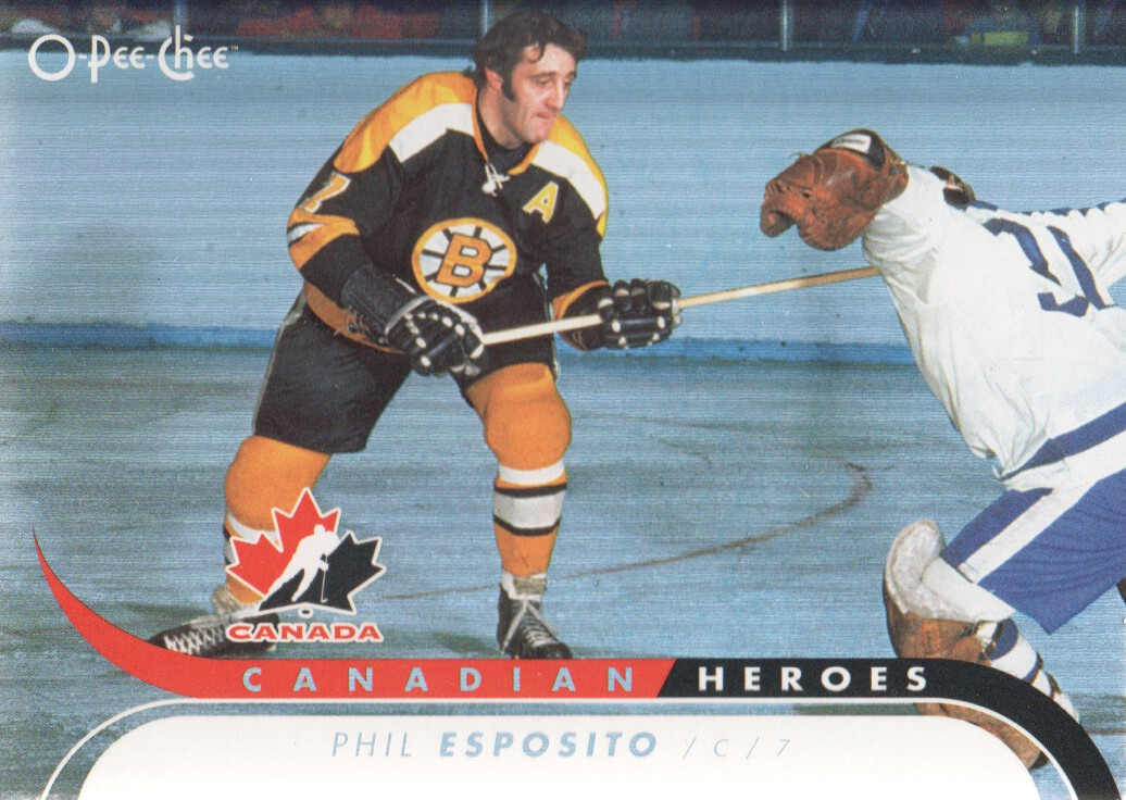 2009-10 O-Pee-Chee Canadian Heroes Foil #CBH7 Phil Esposito