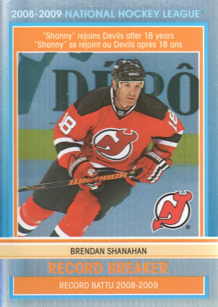 2009-10 O-Pee-Chee Record Breakers #RB9 Brendan Shanahan