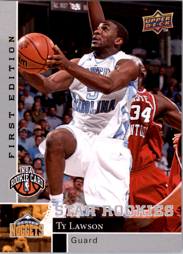 2009-10 Upper Deck First Edition #198 Ty Lawson RC