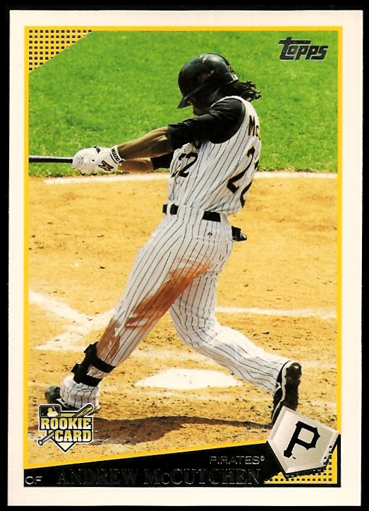 2009 Topps Update #UH155 Andrew McCutchen (RC)