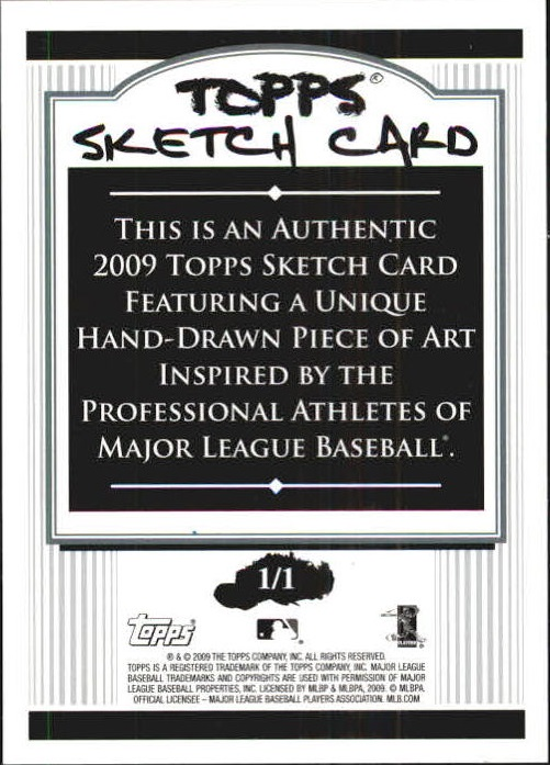 2009 Topps Update Sketches #76 Alex Rios back image
