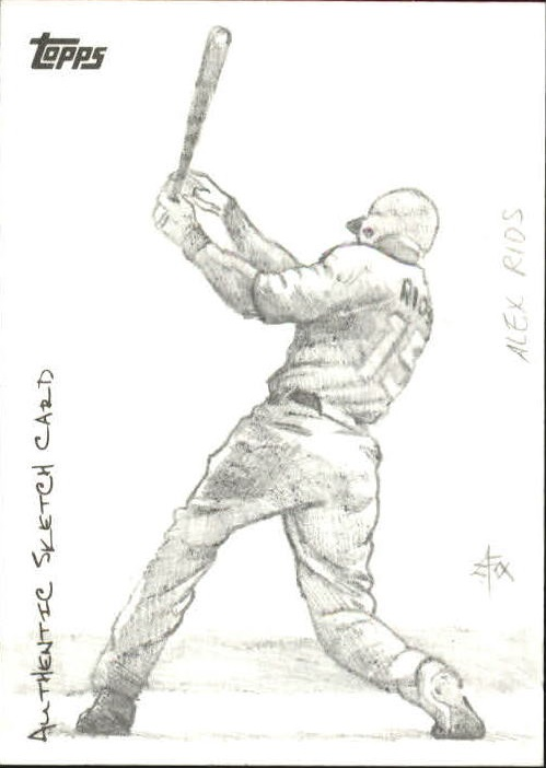 2009 Topps Update Sketches #76 Alex Rios