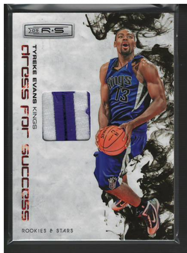 2009-10 Rookies and Stars Dress for Success Materials Prime #4 Tyreke Evans