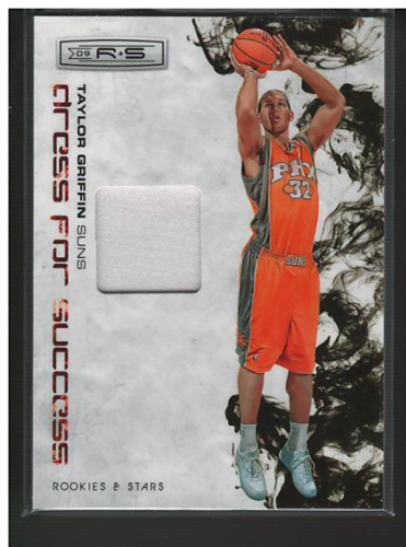 2009-10 Rookies and Stars Dress for Success Materials Prime #35 Taylor Griffin