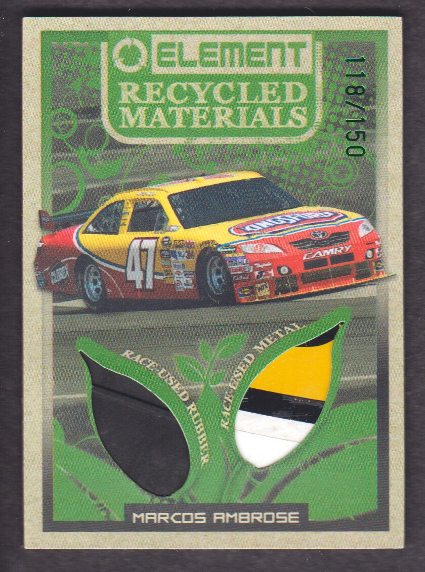 2010 Element Recycled Materials Green #RMMA Marcos Ambrose