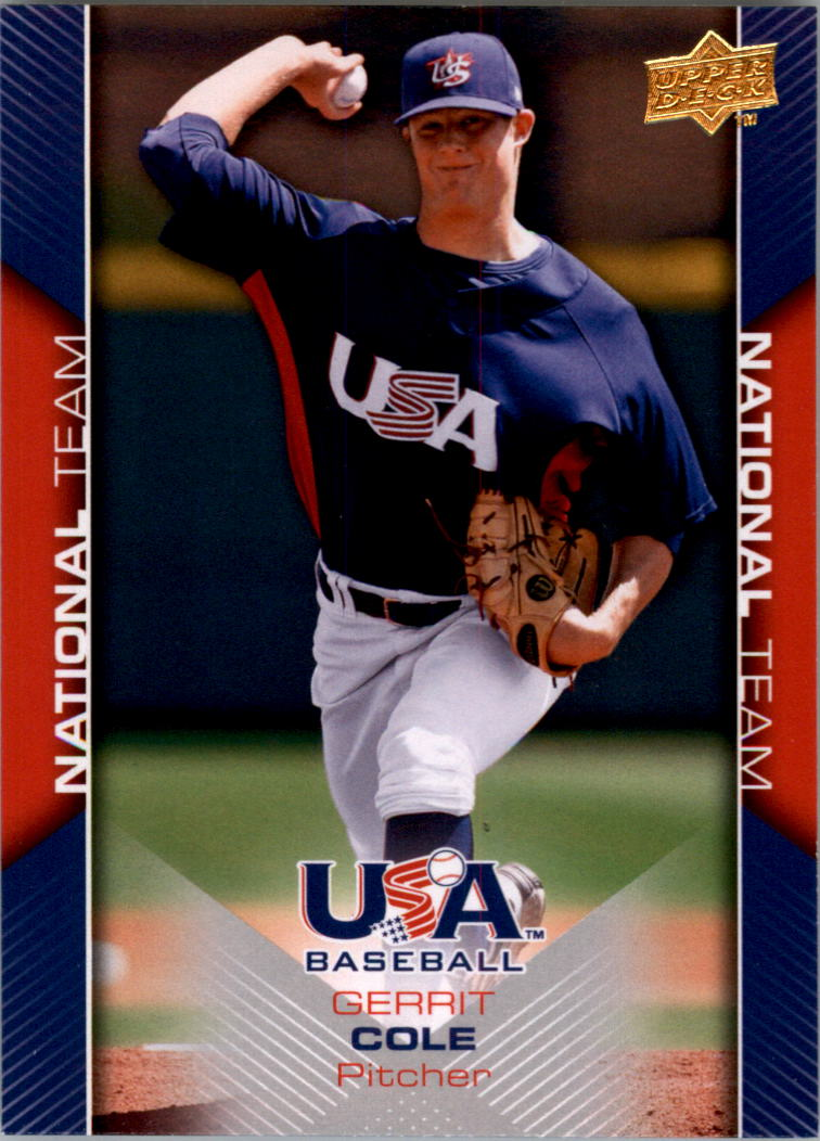 2009-10 USA Baseball #USA8 Gerrit Cole