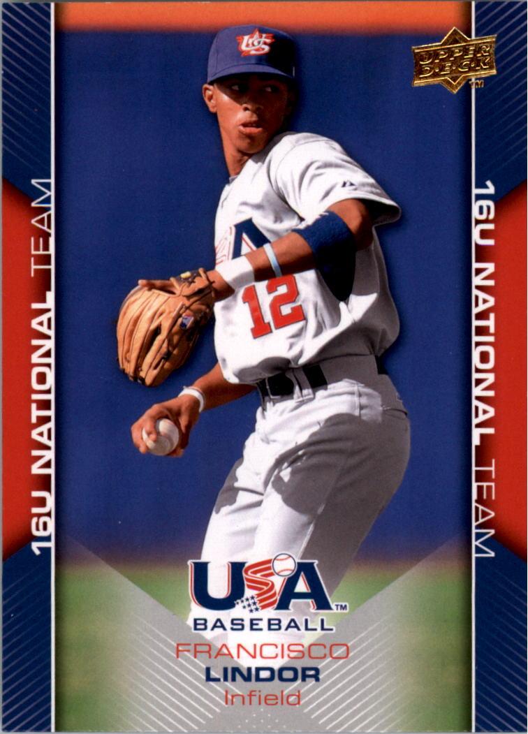 2009-10 USA Baseball #USA55 Francisco Lindor