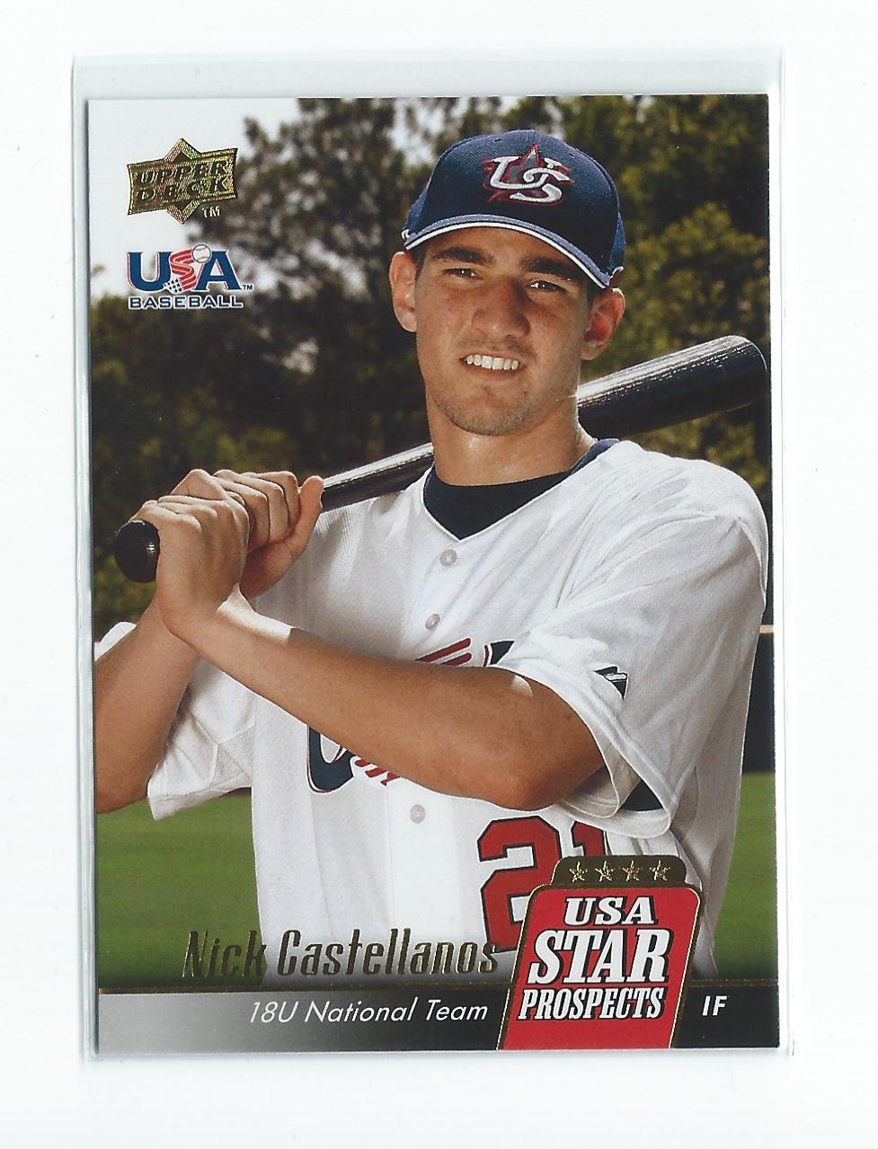 2009 Upper Deck Signature Stars USA Star Prospects #USA2 Nick Castellanos