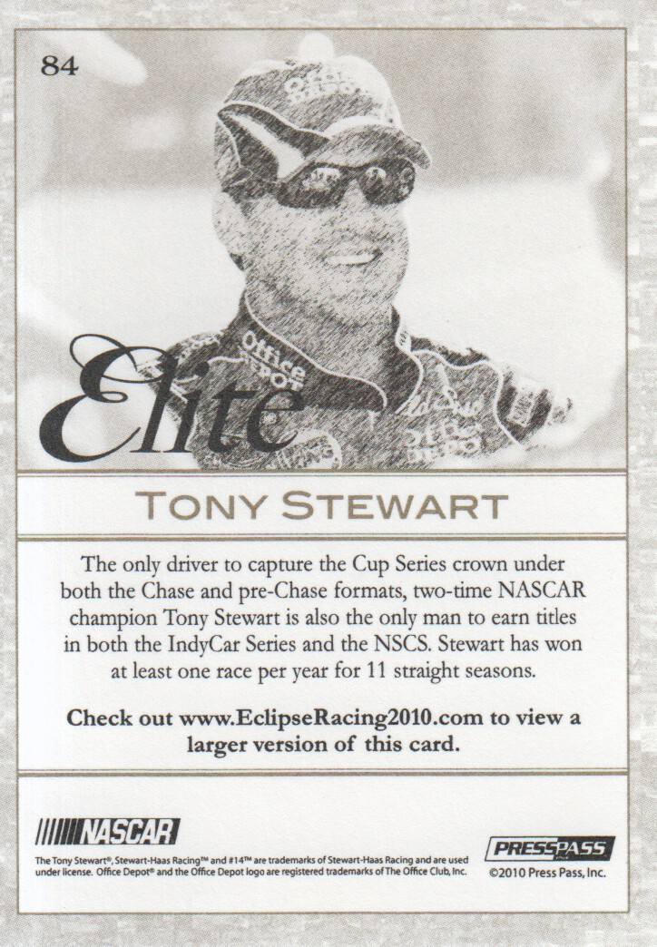 2010-Press-Pass-Eclipse-Parallels-NASCAR-Racing-Cards-Pick-From-List thumbnail 15