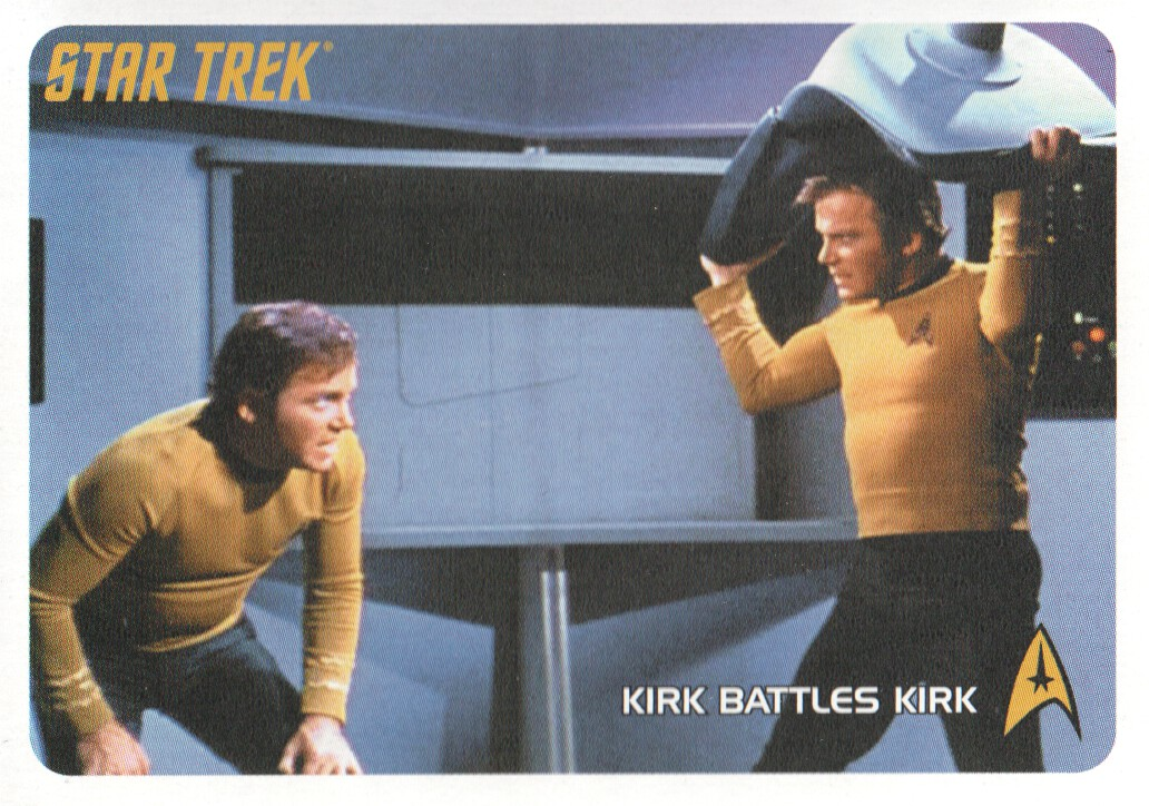 Star Trek TOS Captains Collection Where No Man Has Gone Before Chase Card #29