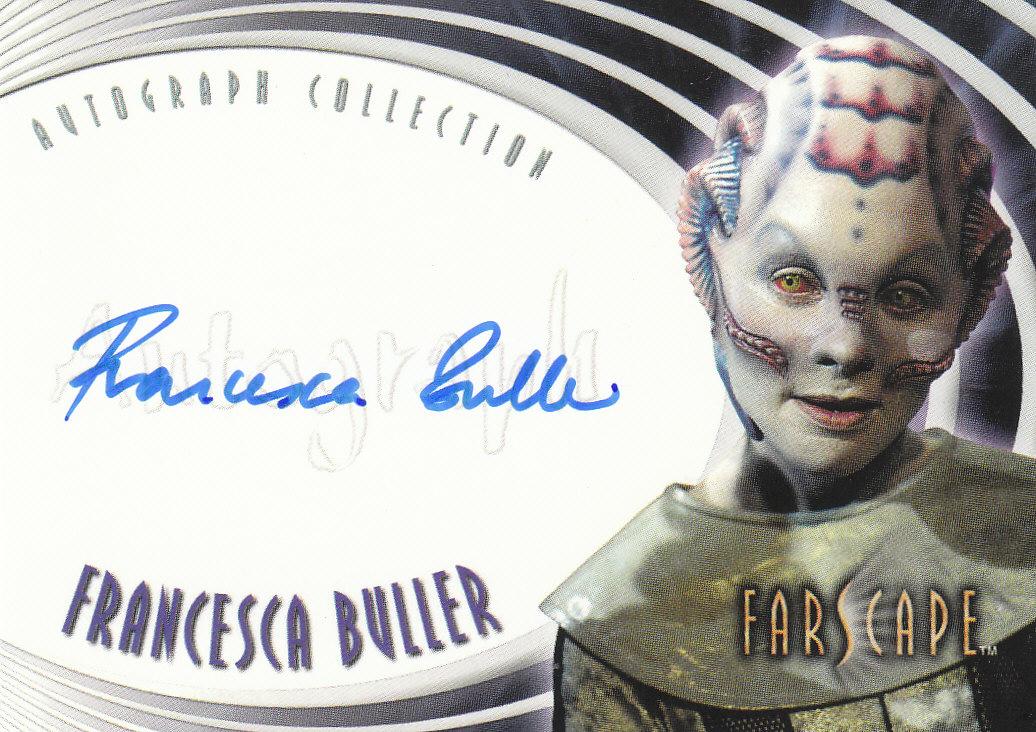 2002 Farscape Season Three Autographs #A20 Francesca Buller