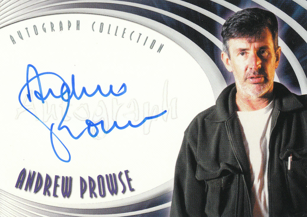 2002 Farscape Season Three Autographs #A21 Andrew Prowse