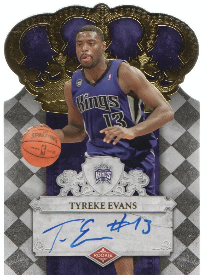 2009-10 Crown Royale #101 Tyreke Evans AU/399 RC